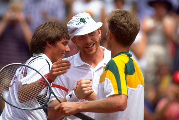 Boris Becker a Michael Stich